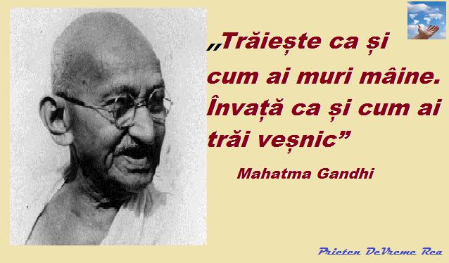traieste Ghandi