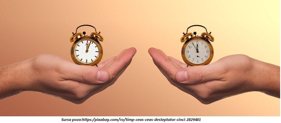 ceasul ticaie
