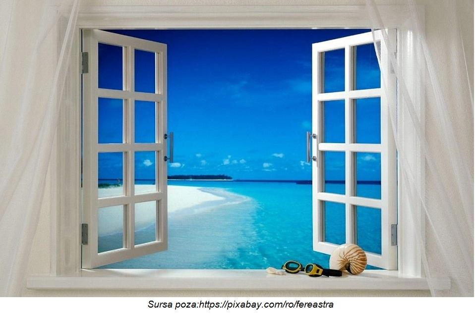 fereastra deschisa